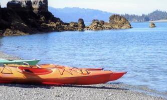 Alaska yacht charters Kayacking 4