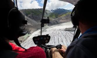 Exit glacier guides helicopter glacier hiking 17