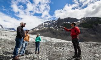 Exit glacier guides helicopter glacier hiking 12