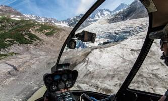 Exit glacier guides helicopter glacier hiking 2