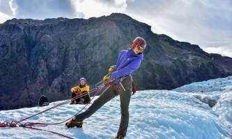 Exit glacier guides ice climbing 8