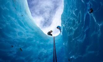 Exit glacier guides ice climbing 10
