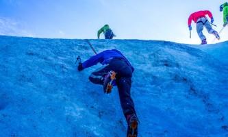 Exit glacier guides ice climbing 6