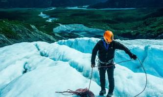 Exit glacier guides ice climbing 2