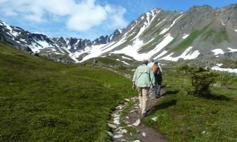 Exit glacier guides nature hike 10