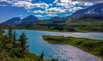 Exit glacier guides nature hike 7