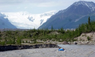 Mc Carthy River Tours Day Trip Mc Carthy River Tours with Icefall2019