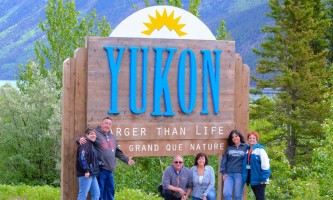 Midnight Sun Excursions yukon sign ray2019