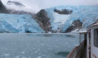 Alaska whittier North Pacific Expeditions Northwestern glacier stbd side brash ice field horizontal north pacific expeditions