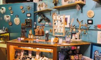 Alaska Museum Store jewelry case Pratt Museum