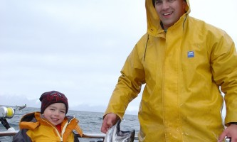 Steve Zernia Alaska King Salmon alaska profish n sea seward