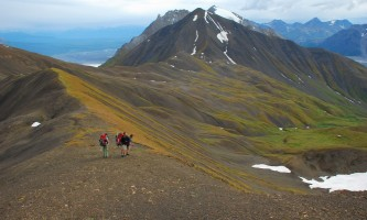 St elias alpine guides Backpackers in Alaska