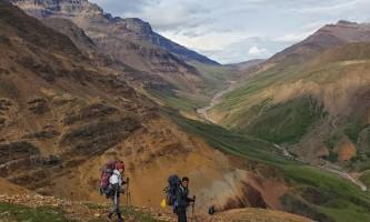St elias alpine guides Hiking the Goat Trail
