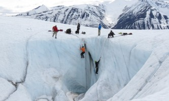 St elias alpine guides Ice Climbing in Alaska