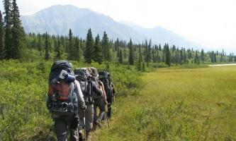 St elias alpine guides Backpacking Donoho Basin