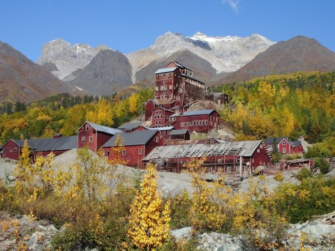 Explore historic buildings that were abandoned over 100 years ago on the Kennecott Mill Town Tour