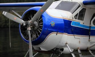 Taquan air misty fjords flightseeing Beaver engine propeller horz taquan air misty fjords flightseeing