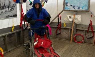 Alaska temsco mendenhall dog sledding Dog Sledding Summer Camp Iditarod Tent TEMSCO Dog Sledding Summer Camp