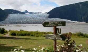 Wings airways taku glacier lodge Serenity