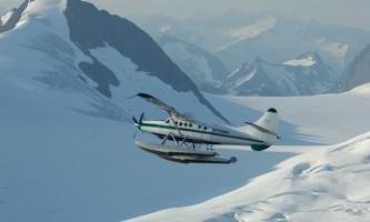 Wings airways taku glacier lodge Among the Mountains