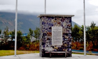 Ak RR Monument alaska railroad whittier ted spencer