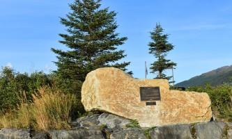 Earthquake monument B alaska whitter