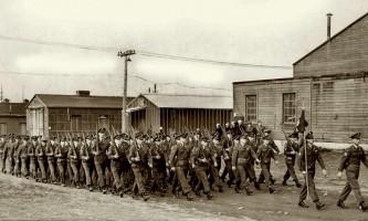 Early Whittier troops Bende alaska whittier historic walking tour ted spencer wings over alaska