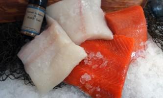 Steve Zernia Red White package alaska captain jacks seafood locker