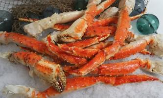Steve Zernia Red King Crab Jumbo 10lb package alaska captain jacks seafood locker
