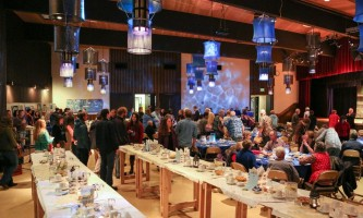 Sitka whalefest alaska The Banquet at Whale Fest Tim Shobe whale fest