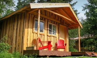 2021 2 Kenai Riverside Lodge Cabin