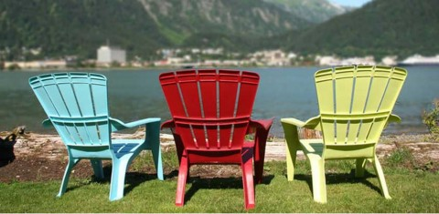 Enjoy views of Gastineau Channel and Downtown Juneau