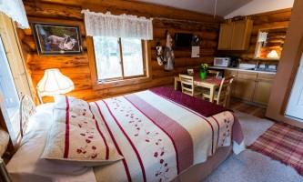 Hatcher pass cabins Interior 2 Josh Hejl hatcher pass cabins