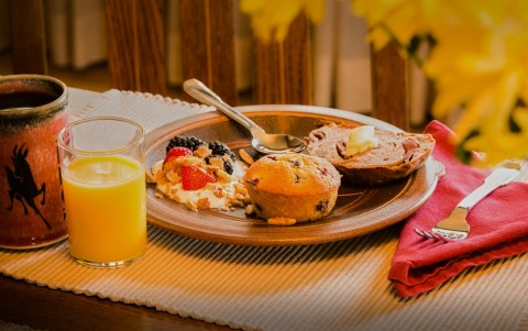 Enjoy a daily continental breakfast with homemade baked goods.