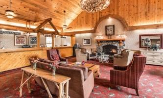 Interior Lobby at Kenai kpl 13 alaska kenai princess wilderness lodge
