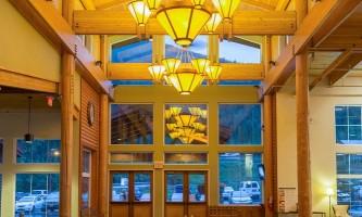 PE2014 Mc Kinley Chalet interior lobby D 25013242 2 alaska mckinley chalet resort denali princess