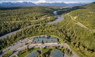 MPL Aerial alaska denali princess wilderness lodge