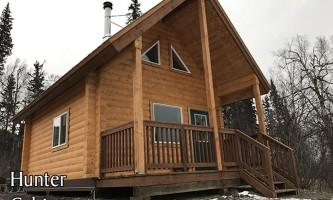 Alaska hunter cabin public use cabin DNR Public use cabins
