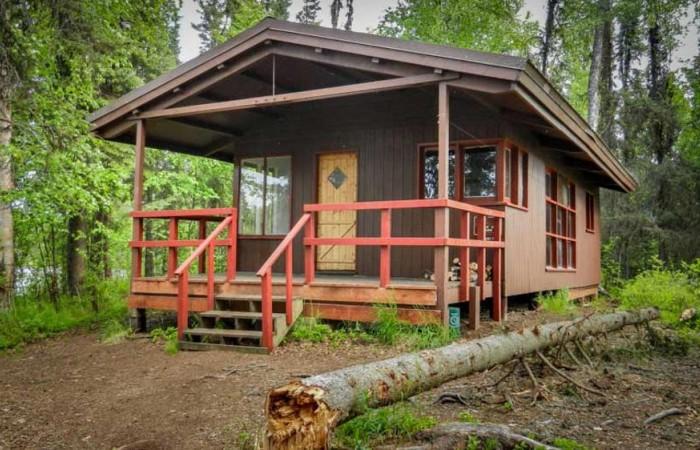 Alaska willow red shirt lake public use cabin public use cabins alaska org Red Shirt 1 Red Shirt Lake Cabin 1