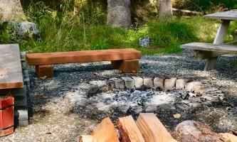 Glacier nalu campground resort Fire Pit