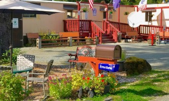 Glacier nalu campground resort Office
