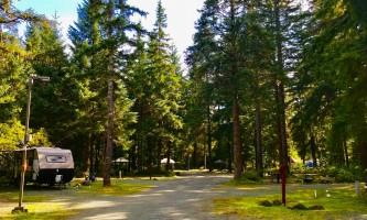 Glacier nalu campground resort RV Site