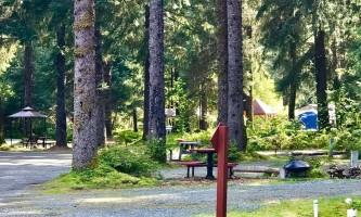 Glacier nalu campground resort campsites