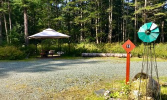 Glacier nalu campground resort Group Campsite