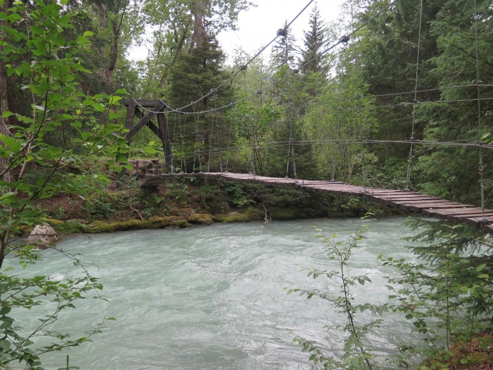Bridge along Chilkoot Trail