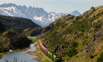 Alaska alaska white pass yukon route railroad hiker transport skagway DSC07688 1 White Pass Yukon Route Rail