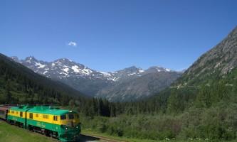 Alaska alaska white pass yukon route railroad hiker transport skagway DSC08137 White Pass Yukon Route Rail