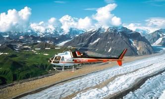 Denali national park trip ideas Era DPL Helicopter Flightseeing