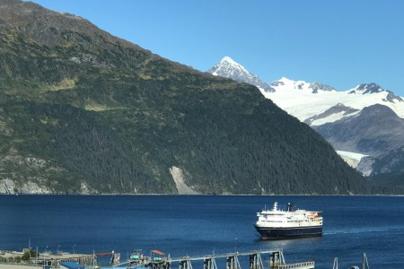 Whittier Harbor Ferry alaska whittier trip ideas