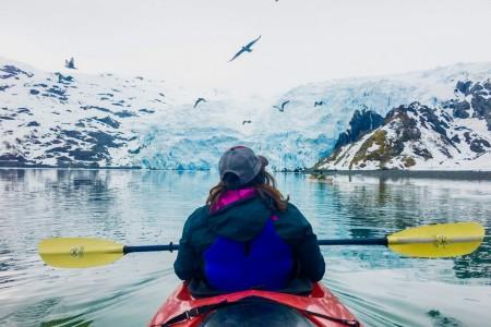 Blackstone Glacier Kayak Whititer alaska whittier trip ideas